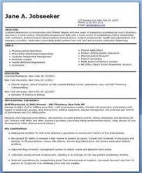 pharmacy resume examples free pharmacist resume sample student