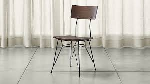 elston dining chair crate and barrel