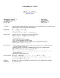 targeted resume template targeted resume resume templates targeted resume template best