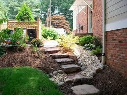backyard drainage home outdoor decoration