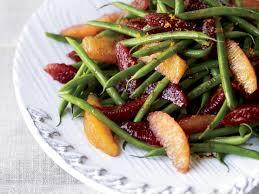 green bean recipes for thanksgiving green bean and blood orange salad recipe matt lewis renato