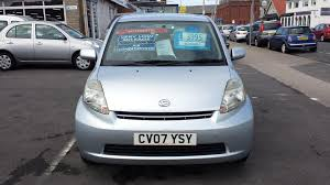 used daihatsu sirion se for sale motors co uk