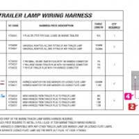 blazer led trailer lights wiring diagram yondo tech