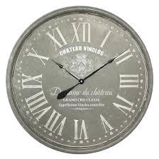 Grande Horloge Murale Carrée En Bois Vintage Achat Horloge Murale Vintage Achat Vente Horloge Murale Vintage Pas