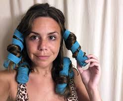 how to put rollersin extra short hair i bought these weird hair rollers because shark tank told me to