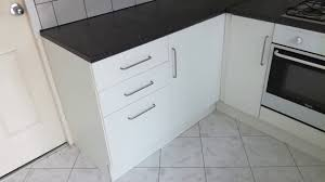 howdens joinery supplied kitchen installed at the highest
