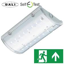 brilas ip65 led bulkhead exit sign emergency lighting products ltd