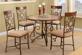 Dining Room Chairs With Wheels by Metal Dining Room Chairs Home Design Ideas