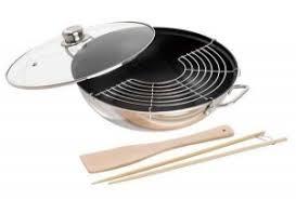 ustensiles de cuisine asiatique wok à tout faire oryza