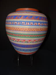 Mexican Vase Mexican Opaque Ware From The Tonala Region Vase M370 Early