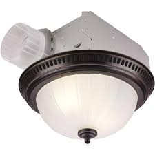 Bathroom Light Fan Bathroomht Vent Combo Nutone Decorative Bronze Cfm Ceiling Exhaust