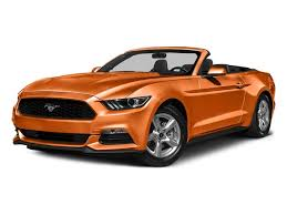 orange mustang convertible 2015 ford mustang convertible 2d v6 pictures nadaguides