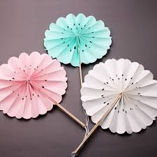 wedding paper fans floral bamboo paper fans 10 pcs palm and bamboo fans