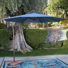 Patio Offset Umbrellas Offset Patio Umbrellas Hayneedle