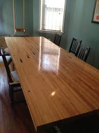 lane dining room furniture my roommate turned a piece of a bowling alley into a dining room