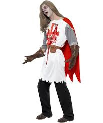 zombie knight costume