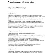 it program manager job description program manager duties project managers roles and