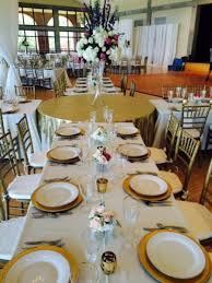 brunch table farm tables round tables rectangle tables marry me wedding rentals