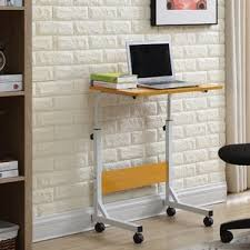 Standing Desk With Drawers by Height Adjustable U0026 Standing Desks You U0027ll Love Wayfair