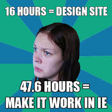 Meme Design - ie why in the world is it so bad microsoft makes billions of