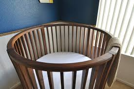 the five major benefits to round baby cribs with round baby crib  modern from houselycom