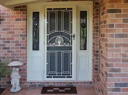 unique home designs security doors also withety door design glass