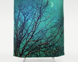 shower curtains u0026 rings etsy