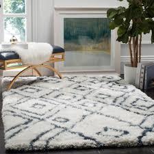 home decor toronto stores safavieh toronto shag ivory blue 8 ft x 10 ft area rug sgt727k 8
