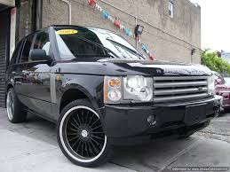 black land rover with black rims 2004 used cars land rover range rover 35k mi w black rims 1 owner