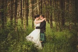 wedding stationery aberdeenshire cornflower blue jade green scottish woodland