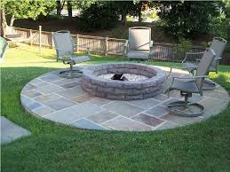 firepit in backyard looks stunning u2014 furniture decor trend