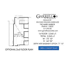 mark harbor house plan house plans by garrell associates inc