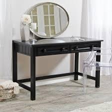 modern bedroom vanity ideas twin chrome table lamp creamy satin