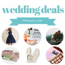 wedding deals deals coupons posts on the budget savvy
