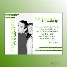 einladungskarten polterabend einladung polterhochzeit epagini info
