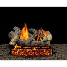 fire gas log set vented