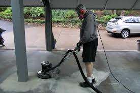floor rental how to grind a garage floor the easy way all garage floors