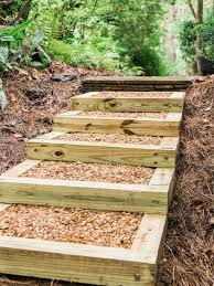 Diy Backyard Landscaping by Best 20 How To Build Steps Ideas On Pinterest U2014no Signup Required