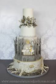 wedding cake essex winter woodland wedding cake cakes by natalie porter