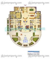 penthouses floor plans justproperty com