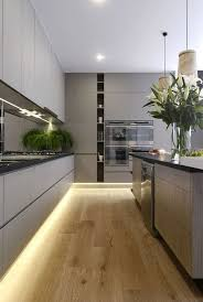 grey kitchen cabinets wood floor 30 grey kitchens that you ll never want to leave digsdigs