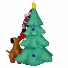 inflatable christmas decoration dog inflatable christmas