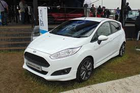 ford reveals st line fiesta focus and mondeo at goodwood auto