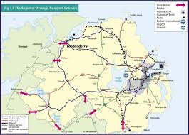 Ireland Rail Map Regional Strategic Transport Network Department For Infrastructure