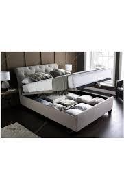 6ft super king size linen fabric brunel ottoman storage bed frame