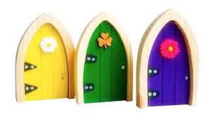 Fairy Door by Magical Irish Fairy Door Green Arched
