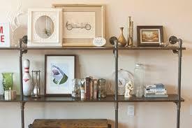 Black Pipe Bookshelf 59 Diy Shelf Ideas Built With Industrial Pipe Simplified Building