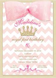 pink and gold first birthday invitation by libbykatesmiles on etsy