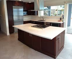 Kitchen Chef Table by Seattle Waterfront Home Has Chef U0027s Table U0026 Cherry Cabinets
