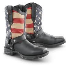 mens black motorcycle riding boots men u0027s durango boot rebel patriotic harness boots 292233 cowboy